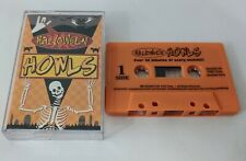 Halloween Howls Cassette tape scary sounds horrible screams 40 min of footage