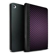PU Leather Tablet Case/Cover for Apple iPad Mini 4/Carbon Fibre Effect/Pattern