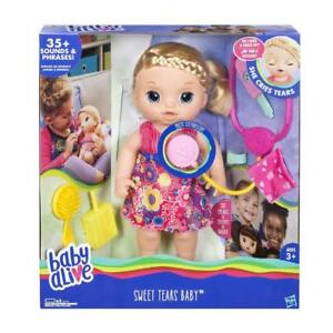 New Blonde Baby Alive Sweet Tears Take Care Doll