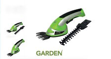 2-In-1 Garden Cordless Grass Shear & Hedge Trimmer Hand Held Shear 3.6V