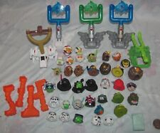 Lot of 37 Star Wars Angry Bird Telepod figures plus accessories
