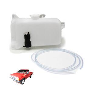 Fits Nissan Big-M D21 1989 90 92 95 1997 Windshield Washer Water Pump Tank White
