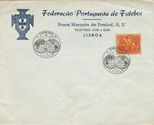 UEFA FIFa 1956 Football Congress cover Portugal Lisboa