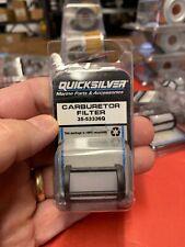 Mercury Marine Quicksilver Carburetor Filter 35-53336Q