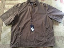 $125 RALPH LAUREN Polo Golf Windbreaker Jacket Packable Wind Water Resistant LG