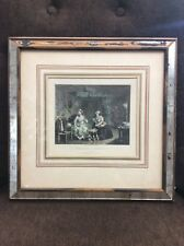 """The Harlot's Progress"" Plate 3. Engraved By T. Phillibrown Original Frame"