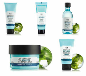 The Body Shop | Seaweed | Cream, Toner, Exfoliator, Cleanser, Mask, SPF | New