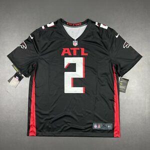 100% Authentic Men's Atlanta Falcons Matt Ryan Nike Black Legend Jersey XL 48