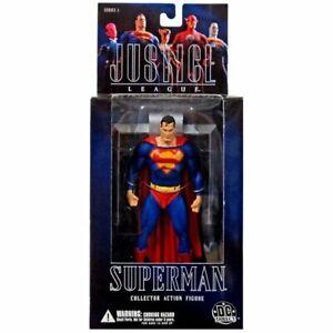 DC Direct Justice League Alex Ross Series 1 Action Figure Superman Damaged Pkg