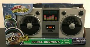 MAXX BUBBLES (BOOMBOX & Bubbles) Endless bubbles and Your favorite music NEW!