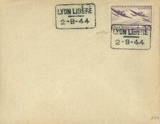 LIBERATION ..RRR..LYON Libéré CAD..2.9.44..1f50+3f50..N° (540) sur ENV...