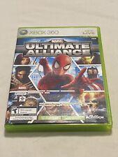Microsoft Xbox 360 CIB Complete Marvel Ultimate Alliance Forza Motorsport 2 Pack