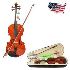 """4/4 Full Size 16"""" Maple Viola With Viola Bow Rosin Case Aesthetic USA Ship"""