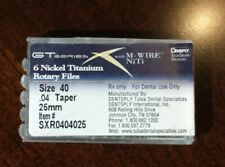 Dentsply GT Series X Nickel Titanium Rotary Files (qty.5) Size 40 .04 Taper 25mm