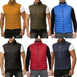 Mens Body Warmer Gillet Waistcoat Urban Fashion Gym Style Streetwear Outdoors