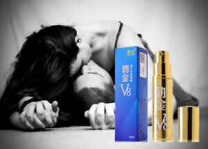 V8 Delay Spray for Men Premature Ejaculation Control Climax Last Longer 10ml