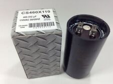 460-552 Uf Start Capacitor MFD 110 VAC 50/60 HZ Motor Compressor Hvac CS460X110