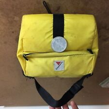 Vintage Cannondale handlebar bag for touring bike 80s early