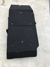 14- 17 FORD TRANSIT CONNECT BLACK CLOTH RH PASSENGER THIRD 3RD SEAT CARGO COVER