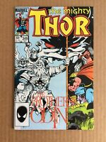 The Mighty Thor Comic Book #349 Marvel Comics 1984