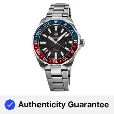 New Tag Heuer Aquaracer 300M Automatic GMT Pepsi Men's Watch WAY201F.BA0927