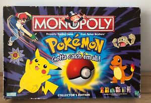 POKEMON MONOPOLY - PARKER HASBRO - REPLACEMENT SPARE PARTS PLAYING PIECES ONLY