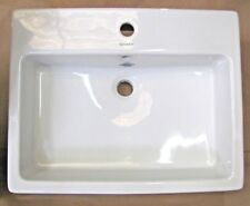 "Duravit 04526000001 Vero 23-5/8"" X 18-1/2"" Single Hole Bathroom Sink, White"