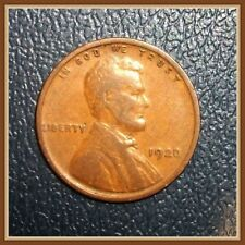 1920 P Lincoln Wheat Cent 1 (ONE) Vintage Old Coin G-F Grades (Stock Photo)