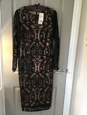 Next ART DECO pattern size 14 TALL  Beautiful Sold Out Dress