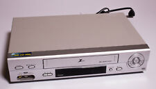 Zenith Vcs442 4-Head Hi-Fi Stereo Vhs Video Cassette Recorder Player Vcr Tested