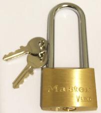 Cadenas Master Lock Laiton 2 Clés Anse Acier cémenté 6mm/L64mm -L:45 mm 4145LJ