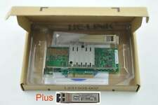 X520-SR1 E10G41BFSR OEM Converged Network 10Gbps PCIe x8 1xLC SFP+ Network Card