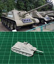 1/144 WWII Russian SU-85 Tank Destroyer /w Commander Resin Kit