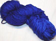 $16 Cobalt MATISSE BLUE 100g Skein 210yd Malabrigo RIOS Soft SW MERINO Wool YARN