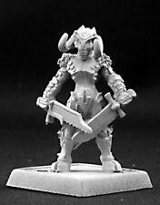 Reaper miniatures Darkspawn demon warrior seigneur de guerre 14435