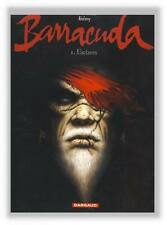 Jeremy Dufaux Barracuda 1 Dargaud EO 2010 avec carnet dessins