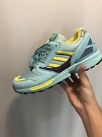 2020 Adidas ZX 8000 Torsion Light Aqua Mens Shoes Size 10 EG8784