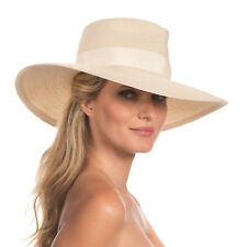 Eric Javits Luxury Fashion Designer Women's Headwear Hat  Daphne - Cream/natural