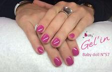 Vernis Semi Permanent NAILITY UV/LED/CCFL n°57 Baby Doll 7ml GEL POLISH USA
