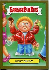 Garbage Pail Kids Mini Cards 2013 Gold Parallel Base Card 3a Picky NICKY