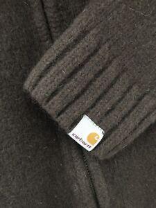 Carhartt Heavy Knit Jumper Brown ( XL but fits like M )