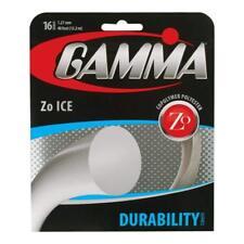Gamma Zo Ice Durability Series Tennis String 16 gauge 1.27mm 40 ft