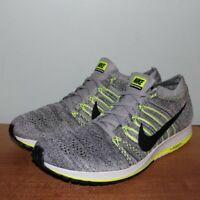 NEW Nike Flyknit Streak 6 Running Shoes 835994-007 Men's 13 Wolf Grey