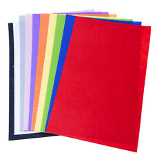 Felt Sheet Pack 10 Bright Colours A4 Crafts Arts