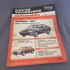 431E RTA 486 Peugeot 405 Renault 25