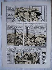 """BOB DAN """"BILL TORNADE FEROCE CONCURRENCE"""" GRANDE PLANCHE AREDIT PAGE 6"""