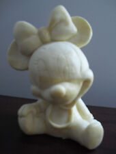 RARE Disney Pre Production Prototype Toy Figurine  of sitting Baby Minnie Mouse