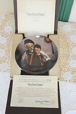 Knowles Plate - Rockwell Heritage Collection - The Music Maker - Coa & Mailer