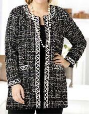 """Ulla Popken In Tweed We Trust Jacket Blazer 28 30 4X NEW   """"s"""