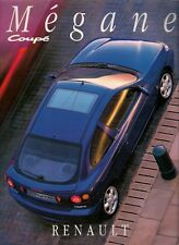 Renault Megane Coupe 1996-97 UK Market 48pp Sales Brochure 16v 2.0 1.6e